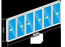 схема Полукруг
